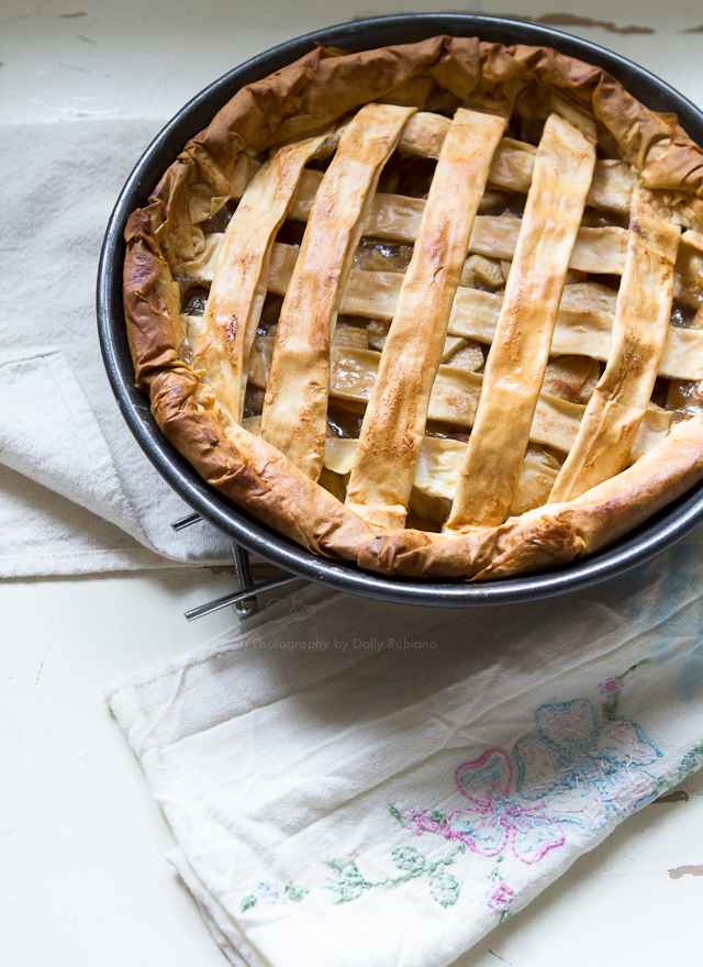Sir Poppy's apple pie
