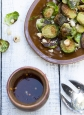 Roast brussels spouts