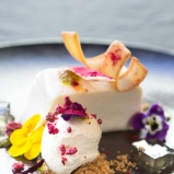Elderflower Jelly Cheesecake by Copthorne Hotel Chef Chetan Pangan