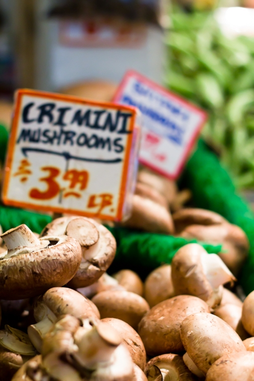 Crimini Mushrooms