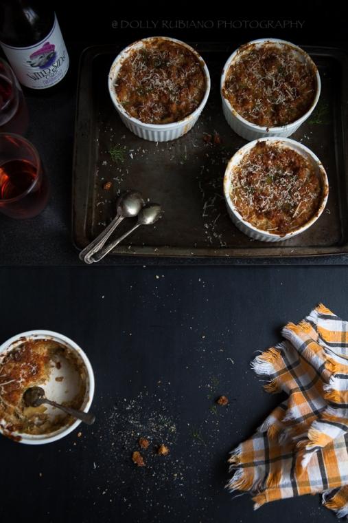 Sweet potato and fennel gratin