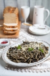 Pasta Negra | Seafood spaghetti with squid ink