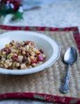 Christmas tuna macaroni salad