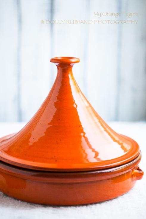 Orange tagine