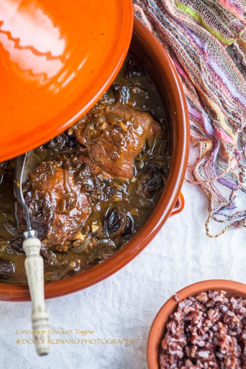 Cinnamon chicken tagine