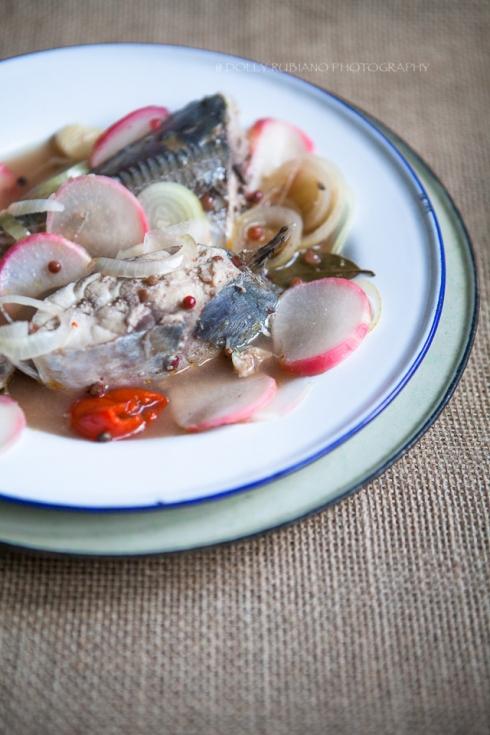 Paksiw na Isda (Fish stew in vinegar)